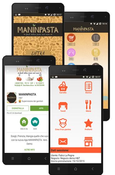 personalizza app clienti